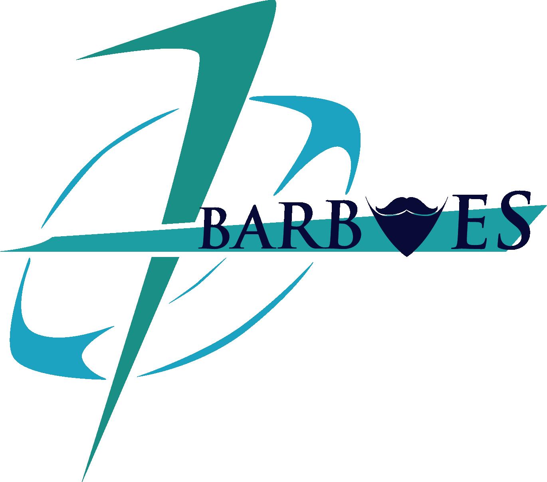 Logo Barbues bleu vert